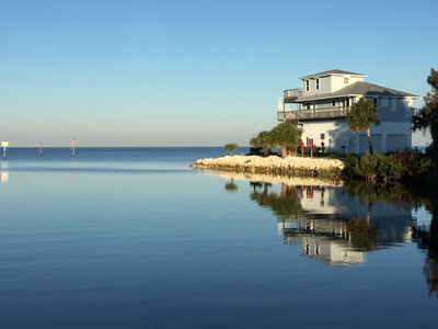 Photo for Gorgeous Waterfront House On The Gulf, just south of the best Scalloping in FL!