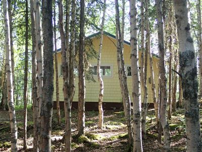 Photo for Artsy fishing cottage with breathtaking view of Kenai River in Soldotna, AK