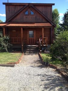 Photo for Amazing Cabin on the River,  close to Chico & Yellowstone Park!  Fantastic views
