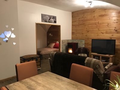 Photo for Smart ski easy access Val Thorens appart 4 people St-michel de Maurienne