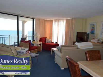 Photo for Surfmaster I 1007 - Oceanfront in Garden City Beach