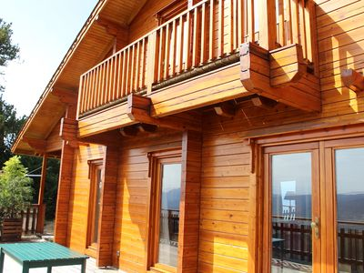 Photo for Wooden Chalet Le Balcon