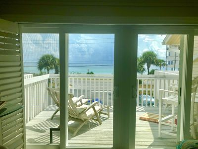 Photo for AUG 20-31OPEN.... THE VIEW! GORGEOUS, STUNNING Direct Gulf View-PET FRIENDLY