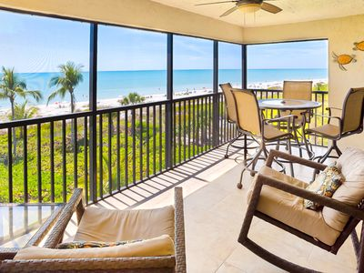 Photo for March 30th week now open as well as weeks in April ! Stunning Gulf Front Condo- Sanibel Island