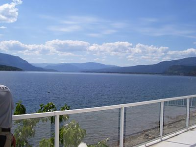 Photo for Beautiful 6 Bdrm House overlooking stunning lake and boat dock.Pet/Kid Friendly.