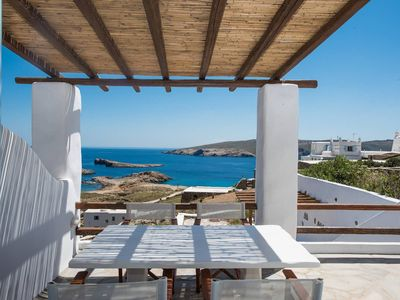 Photo for Amazing view at Agios Sostis beach in a dreamer  Mykonos!!