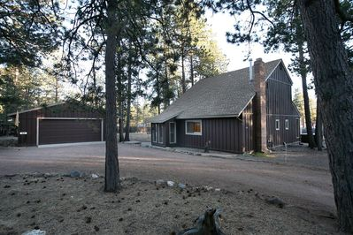 Large spacious property with lots of trees