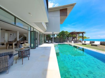 Photo for LUXURY BEACHFRONT VILLA