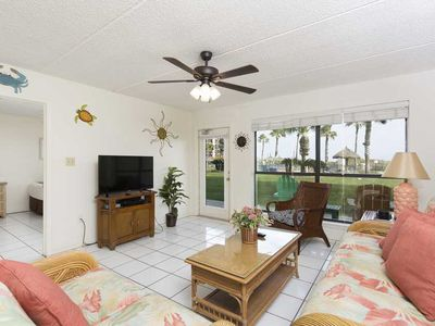 Photo for Saida II 105 - Ground Floor Beachfront Condo, Right on the Beach, Oceanfront Pools & Hot Tubs