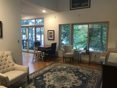 Photo for Waterfront, family-friendly property in quite private setting
