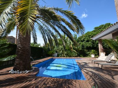 Photo for Comfortable villa for 6 persons with pool in 250 m from the beach of Cambris