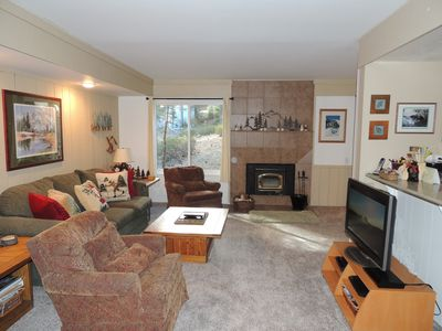 Photo for Modern and beautiful end unit #177 close to the shuttle and Village at Mammoth