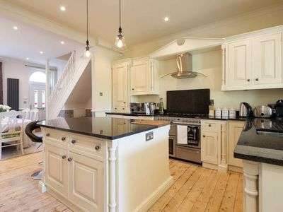 Photo for Luxury 2 Bed Edwardian House - FreeWi-Fi & Parking, Sunny Garden