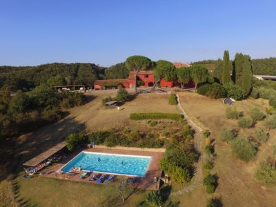 Photo for APARTMENT with SWIMING POOL in an ANCIENT PODERE in MAREMMA TOSCANA