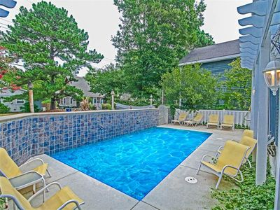 Photo for S210T: PRIVATE POOL! Unique Canalfront 6BR+South Bethany Home - Boat Dock