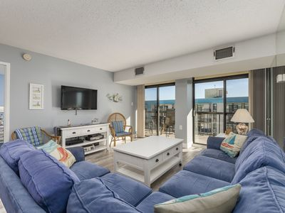 Photo for Braemar Towers 1006 - Oceanfront (Side) in North OC!