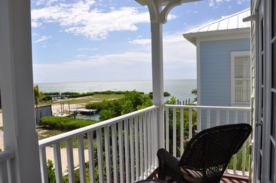 View from Master bedroom porch