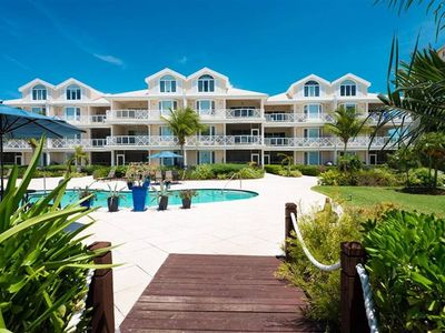 Photo for Beautiful Ocean View 2 Bedroom Condo on Grace Bay Beach