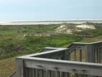 Photo for Pelican Point Unobstructed Beach Views Beach Access out back door!