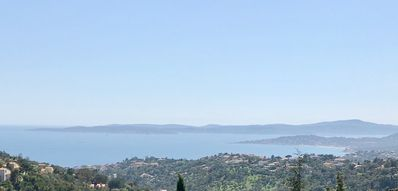 Photo for A few steps from Sainte Maxime magnificent panoramic sea view 180 °