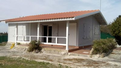 Photo for Chalet between sea and countryside