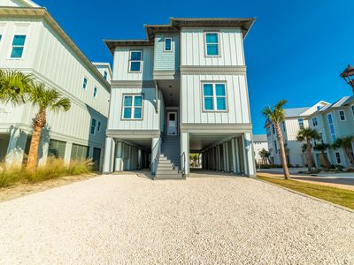 Photo for Gorgeous beach home! Coastal design and decor; Sleeps 20; 2 dens! Steps to beach