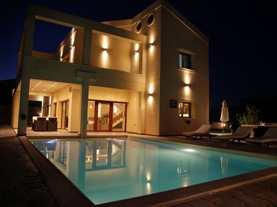 Photo for Luxury Villa Alex with Private Pool 7km away from the best beach of Corfu