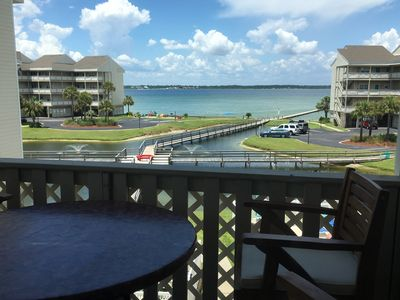 """Photo for """"Bubbles & Brine"""" - Relaxing Water View, Elevator, Pool and Parking"""