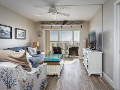Photo for Castle Beach 105, Gulf Front, 2 Bedrooms, , Elevator, Sleeps 6, Heated Pool
