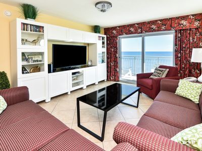 Photo for 4BD/3BA Ocean Front Condo - Sought After Updated 10th Floor South Side End Unit!