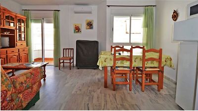 Photo for Central apartment in El Morche, ideal for the whole family.