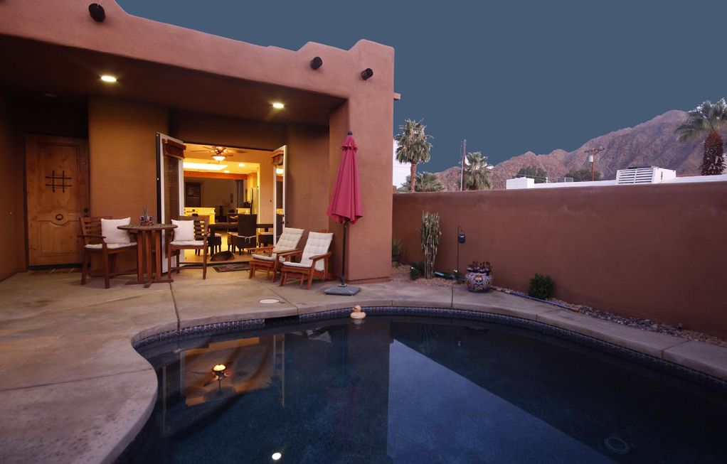 stunning santa fe walking distance to the village la quinta cove vrbo