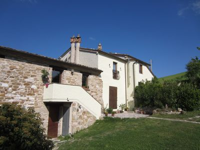 Photo for 2BR Apartment Vacation Rental in San Pietro, Marche