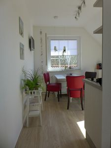 Photo for Bright, friendly penthouse near the beach with Wi-Fi