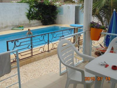 Photo for Villa holiday Swimming pool, Fishing trip boat equipped with skipper