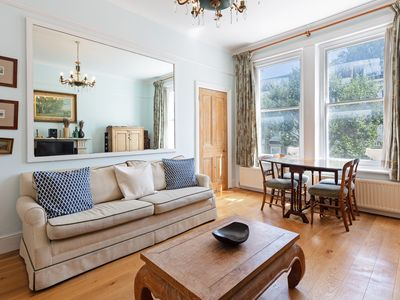Photo for Gorgeous 1BDR for 2 in Earl's Court with vintage furniture