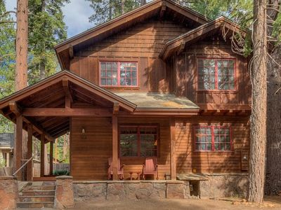 Photo for Tahoe Time North Lake 4BR with Hot Tub - Walk to Lake!