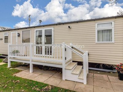 Photo for 8 berth luxury caravan at Caister on sea (Haven park) in Norfolk ref 30034P