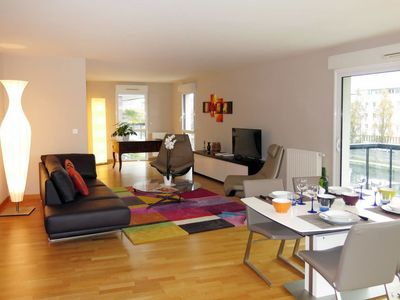 Photo for One bedroom Apartment, sleeps 4 in Rennes with WiFi