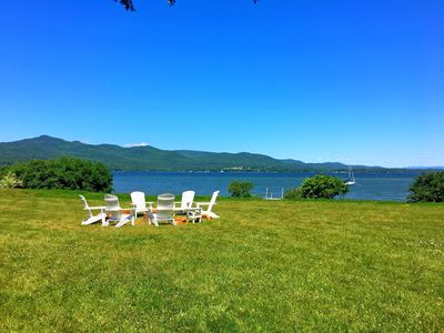 Photo for Elmtucket, a charming year round home on the shores of Lake Champlain