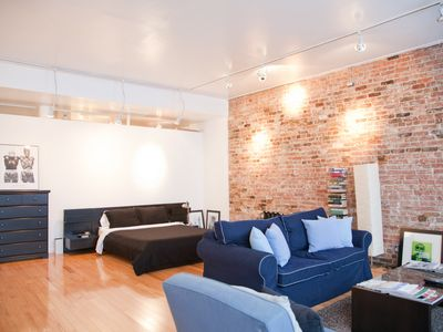 Photo for Spacious ground-floor loft one block from Tompkins Square Park