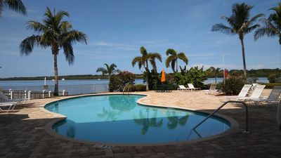 Photo for Boca Ciega Resort - Waterfront Location Overlooking Natural Habitat w/ Dolphins