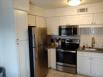 Newly renovated kitchen has all the comforts of home
