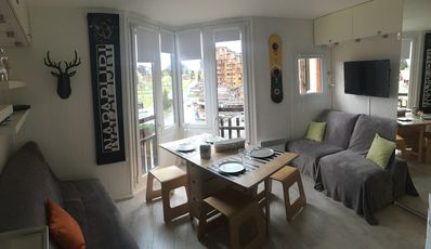 Photo for Superb bright studio in the heart of Avoriaz, direct access to the slopes
