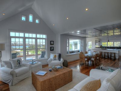 Photo for Beautiful Cape Cod home. Ocean views & high end decor