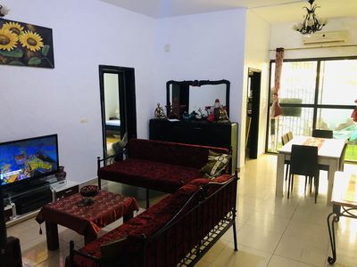 Photo for Furnished 3 room apartment, equipped, secure, in Zone4 and near the Airport