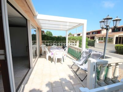 Photo for Villa in residence LES TAMARIS, 2 bedrooms for 5 people, wifi, PORTIRAGNES PLAGE