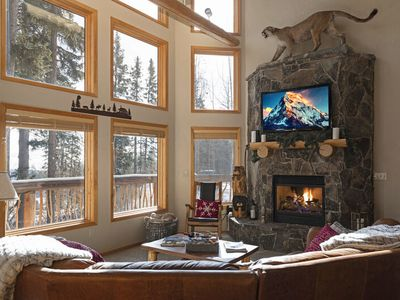 Photo for Spacious Whitefish Mountain residence with some of the best ski in/out on the mountain.