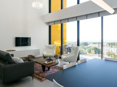 Photo for New Sea-View Apartment with Pool – 2 Bedrooms