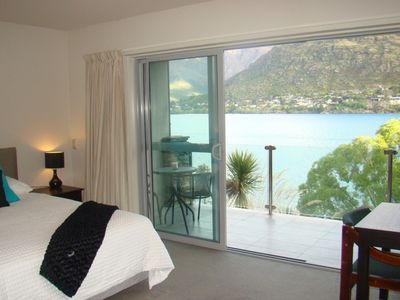 Photo for Affordable Luxury w Magnificient Lake and Mt Views